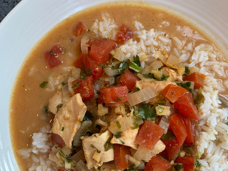 Thai Coconut Chicken Curry with D'vash Organics