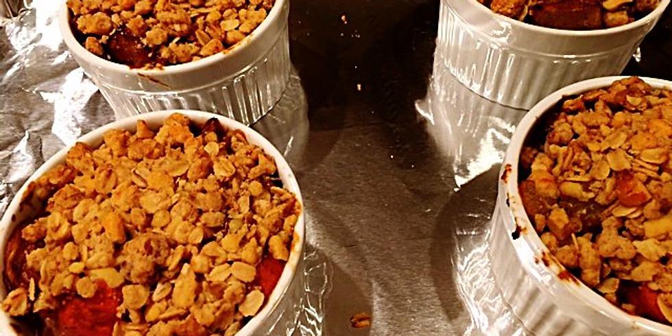 L2 Holiday Vegan for Everybody - Vegetable Pot Pie & Cashew Milk Rolls