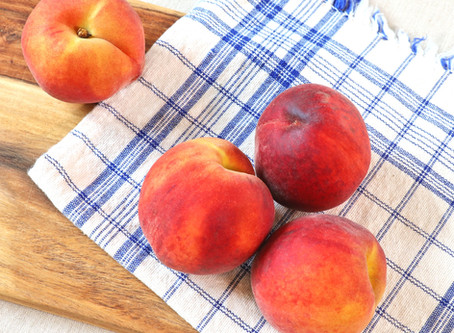 Peaches are almost gone - enjoy them until the very end!