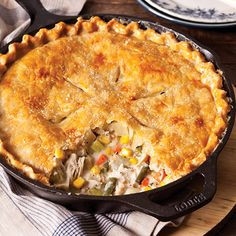A Tale of Two Pies - Chicken Pot Pies, that is