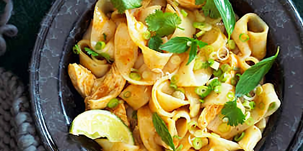 Curry Noodles with Chicken - Thai Cooking