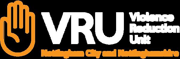 VRU Logo Lockup Orange White.png