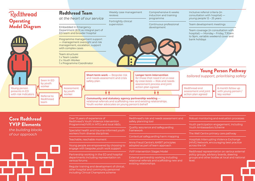 Redthread Operating Model Diagram. This can also be found on their website