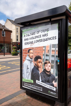stopviolence poster campaign image
