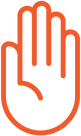 VRU Hand Orange logo.png