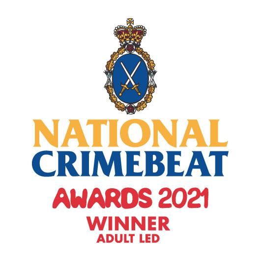 National Crimebeat Awards 2021 Winner Logo