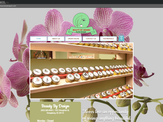 Try the Unusual- Beauty By Design is Online!