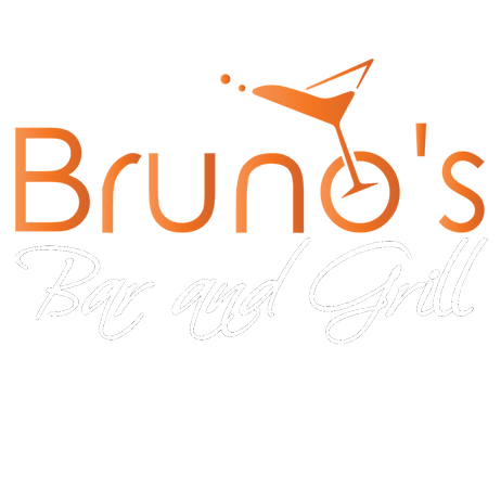Bruno's Bar and Grill Logo White.png