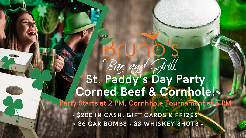 Bruno's Bar and Grill St. Patrick's Day