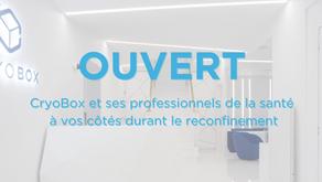 La cryothérapie pendant le couvre-feu et le confinement à Paris