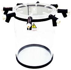 8-port freeze dryer chamber