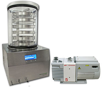 LyoDry Compact benchtop freeze dryer for hire