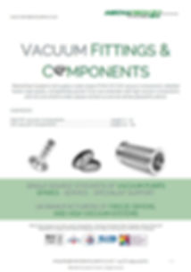 KF/NW/ISO vacuum fittings catalogue