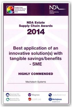 NDA Supply Chain Award