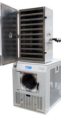 LyoDry Midi freeze dryer with 10-shelf c