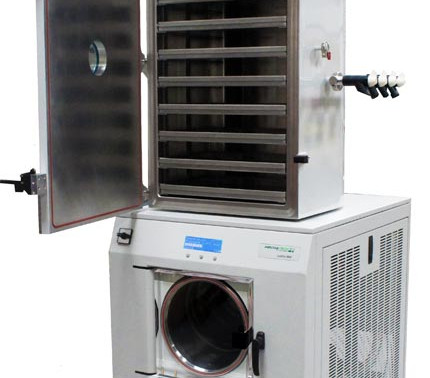 Low Cost Bulk Freeze Drying - now with Optional Flask Drying