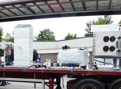 Production Vacuum Dryer No 6 Delivered!