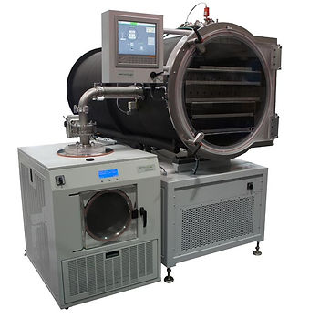 LyoDry Midi freeze dryer with bespoke chamber