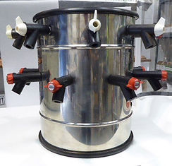 Edwards drum manifold for flask drying