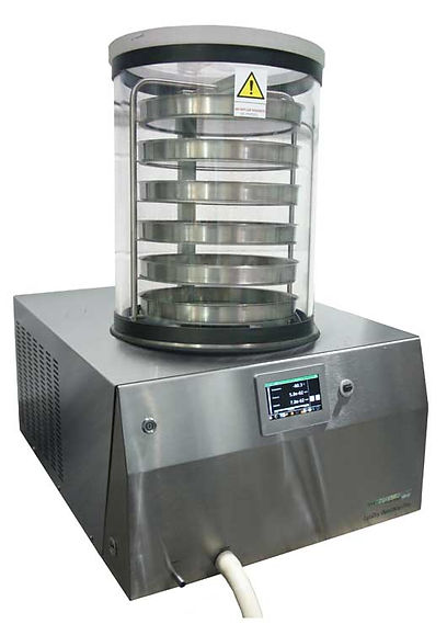 Benchtop Pro Freeze Dryer with data analysis