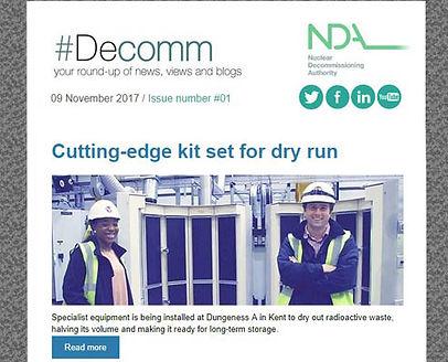 NDA Newsletter November 2017