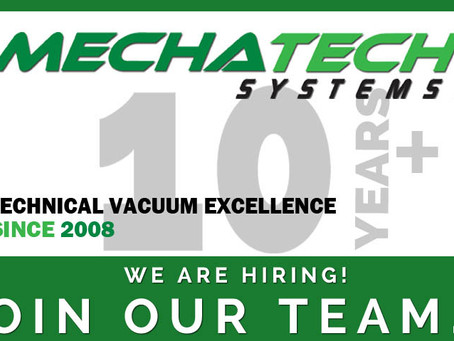 We are Hiring! Mechanical Production Engineer required.