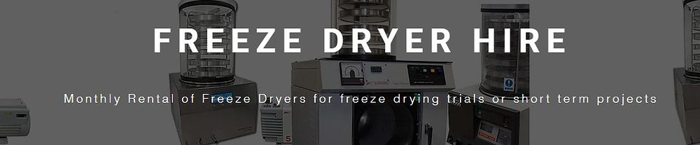 Freeze Dryer Rental (UK)