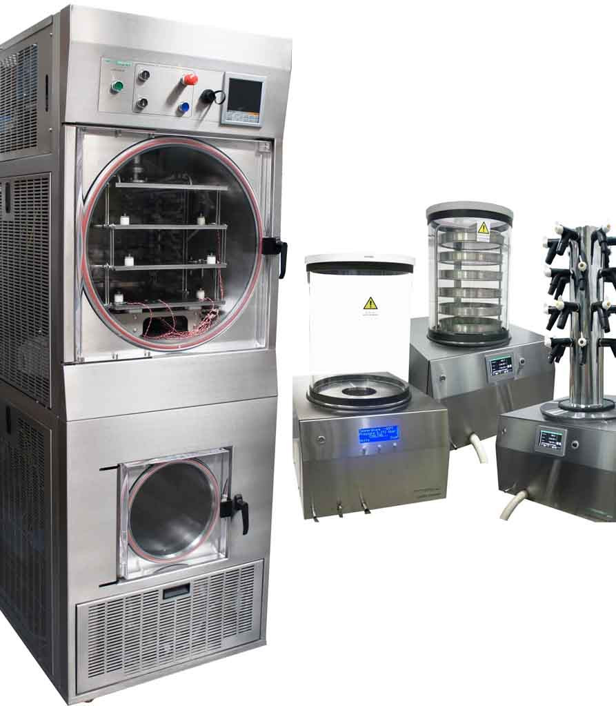 LyoDry Freeze Dryers - UK designed, manufactured and supported