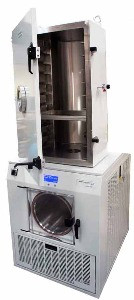 LyoDry Midi Freeze Dryer with LSCC10 10-tray chamber