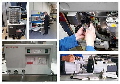 Freeze dryer repairs and maintenance