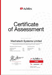 Mechatech Systems Achilles Assessment Verify B1