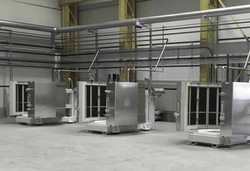 Cylindrical Heating Stations