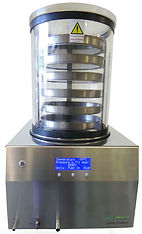 Benchtop Freeze Dryer with Acrylic Chamber and tray accessory