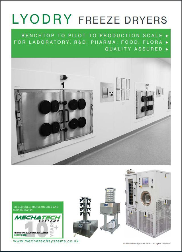 LyoDry Freeze Dryers Catalogue 2021