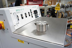 Hydrogen in aluminium porosity tester