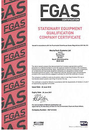 MechaTech Systems - F-Gas certified