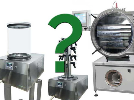 Buying a Freeze Dryer? Points to Consider…