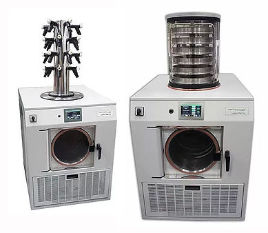 Laboratory Freeze Dryer with Pressure Control
