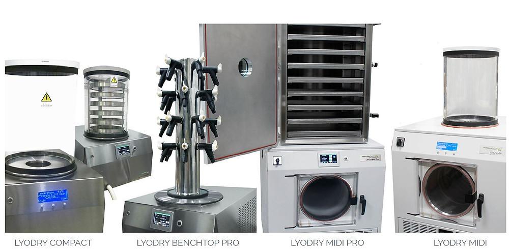 LyoDry Laboratory Freeze Dryers