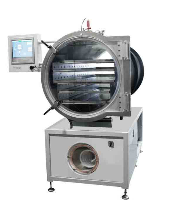 LHS60 LyoDry Heritage has an ice condenser capacity of 60Kg before defrost is required
