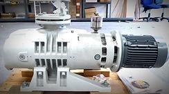 Leybold Ruvac roots vacuum pump reconditioned