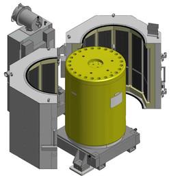 Cylindrical Heating Stations GA