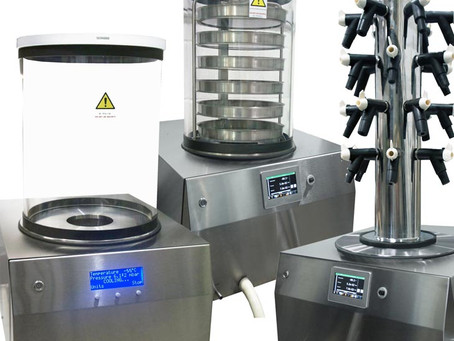 Benchtop freeze dryers - UK designed, manufactured and supported