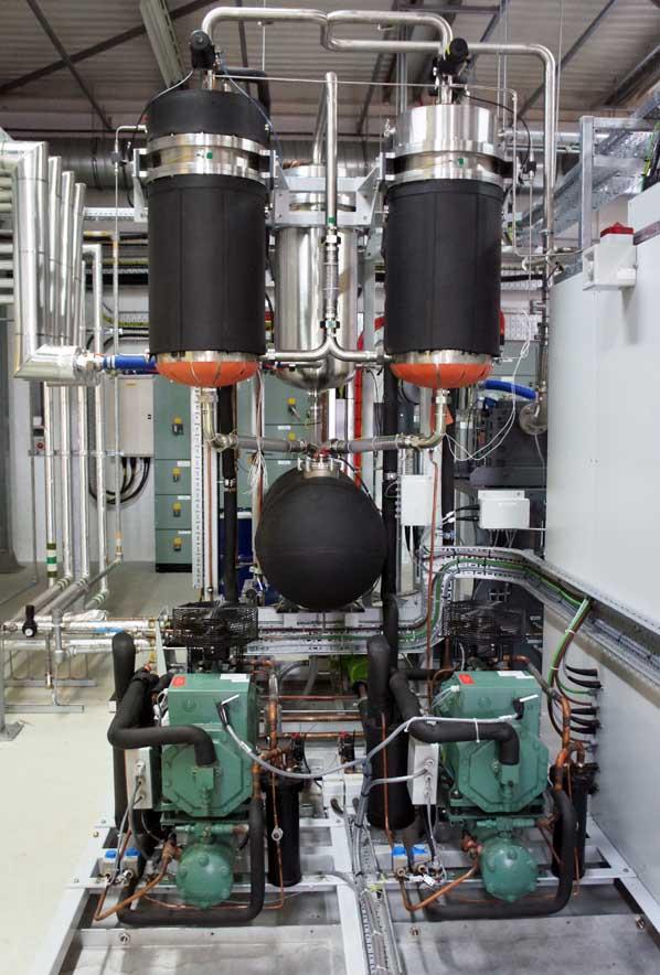 Vacuum Condenser Unit (VCU)