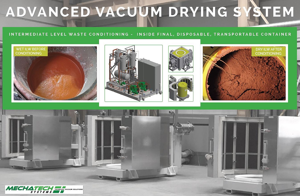 Advanced Vacuum Drying System (AVDS) for conditioning ILW