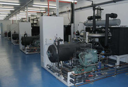 BioDry Vacuum Dryer - plant room