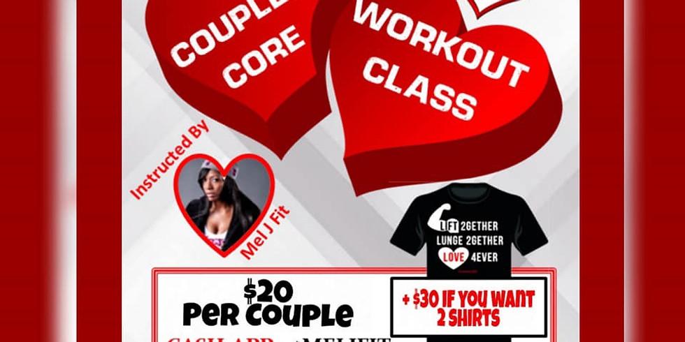 Mo' Scrubs at Couples Core Workout Class!