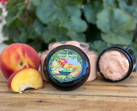 Peach Cobbler - CBD Body Butter 2oz ONLY