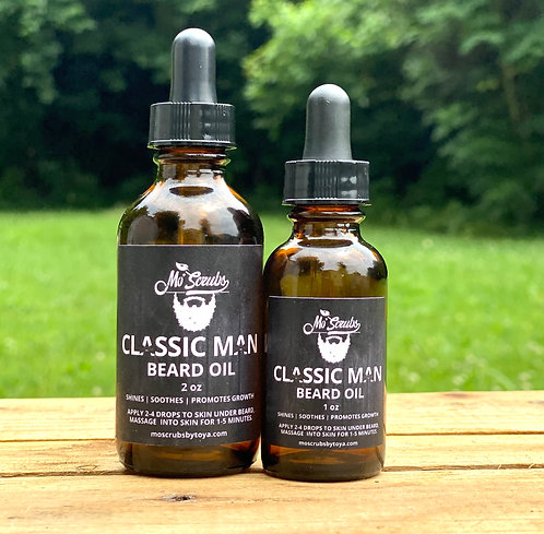 Classic Man - Beard Oil