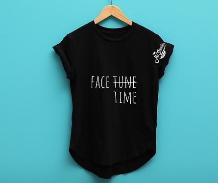 """Mo' Scrubs  """"Face Time"""" Tee"""